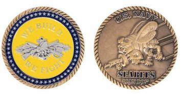 Coin: Navy Seabee Round
