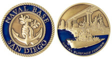 Coin: Naval Base San Diego
