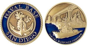 Coin: Naval Base San Diego