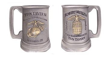 Coin: Marine Corps Tun Tavern Antique Silver