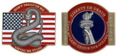 Coin: Don't Tread on Me