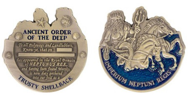 Coin: Shellback