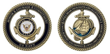 Navy Core Values – Spinner