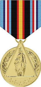 Full Size Anodized Medal: Global War on Terrorism Civilian Service DOD