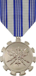 Full Size Medal: Air Force Achievement - Chrome Plated
