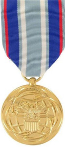 Full Size Medal: Air Force Air and Space Campaign - 24k Gold Plated
