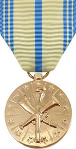 Full Size Medal: Air Force Armed Forces Reserve - 24k Gold Plated