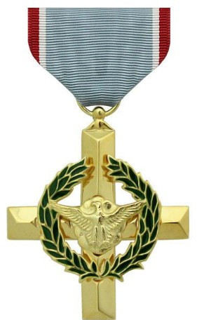 Full Size Medal: Air Force Cross - 24k Gold Plated