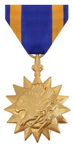 Full Size Medal: Air Medal - 24k Gold Plated