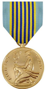 Full Size Medal: Airman's Medal - 24k Gold Plated