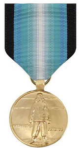 Full Size Medal: Antarctica Service - 24k Gold Plated