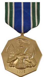 Full Size Medal: Army Achievement - 24k Gold Plated