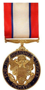 Full Size Medal: Army Distinguished Service - 24k Gold Plated