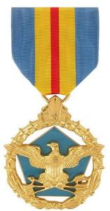 Full Size Medal: Defense Distinguished Service - 24k Gold Plated