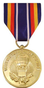 Full Size Medal: Global War on Terrorism Service - 24k Gold Plated