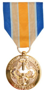 Full Size Medal: Inherent Resolve Campaign - 24k Gold Plated