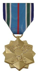 Full Size Medal: Joint Service Achievement - 24k Gold Plated