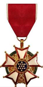 Full Size Medal: Legion of Merit - 24k Gold Plated