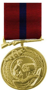 Marine Corps Good Conduct - 24k Gold Plated
