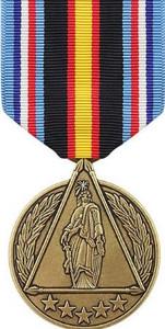 Global War on Terrorism Civilian Service DOD Medal