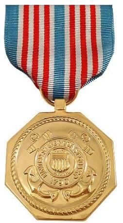 Full Size Medal: U.S. Coast Guard Medal for Heroism