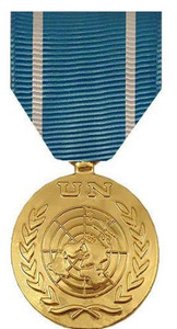 Full Size Medal: United Nations Observer - 24k Gold Plated