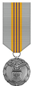 Miniature Medal: Air Force Meritorious Civilian Service