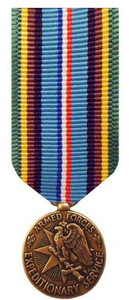 Miniature Medal: Armed Forces Expeditionary