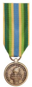 Miniature Medal: Armed Forces Service Medal