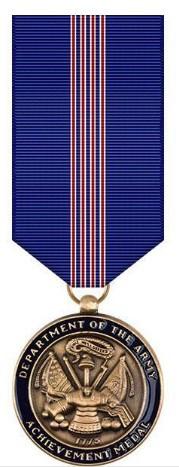 Miniature Medal: Army Achievement for Civilian Service