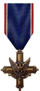 Miniature Medal: Distinguished Service Cross