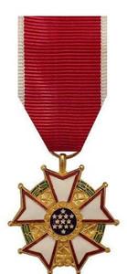 Miniature Medal: Legion of Merit