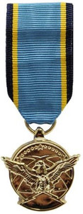 Air Force Aerial Achievement Miniature Medal- 24k Gold Plated