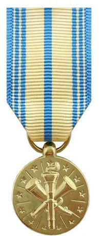 Air Force Armed Forces Reserve-  Miniature Medal- 24k Gold Plated