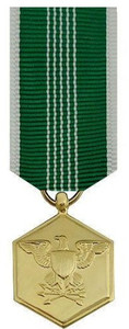 Army Commendation Miniature Medal- 24k Gold Plated