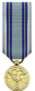 Air Reserve Forces Meritorious Service Miniature Medal- 24k Gold Plated