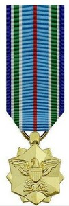 Joint Service Achievement Miniature Medal - 24k Gold Plated