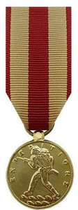 Marine Corps Expeditionary Miniature Medal - 24k Gold Plated