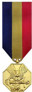 Navy and Marine Corps Miniature Medal- 24k Gold Plated