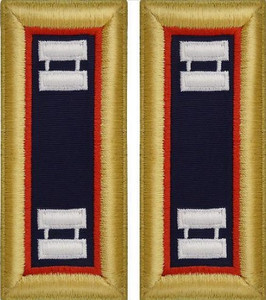 Army Captain Shoulder Board- Adjutant General