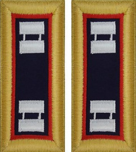 Army Captain Shoulder Board- Adjutant General- Female