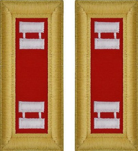 Army Captain Shoulder Board- Artillery – Female