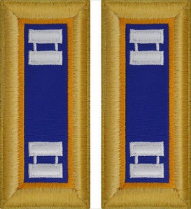 Army Captain Shoulder Board- Aviation