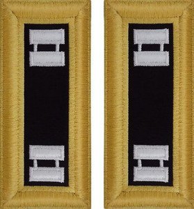 Army Captain Shoulder Board- Chaplain