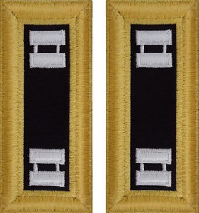 Army Captain Shoulder Board- Chaplain– Female