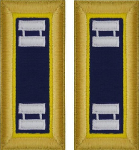 Army Captain Shoulder Board- Chemical