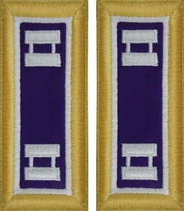 Army Captain Shoulder Board- Civil Affairs– Female