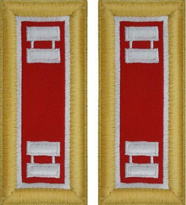 Army Captain Shoulder Board- Engineer