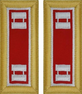 Army Captain Shoulder Board- Engineer- Female