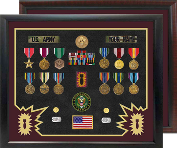 "20"" x 24"" Ordnance Open Shadow Box Display"